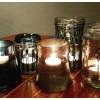 Dora metallisk Glasmaling koksgrå 3138 50 ml
