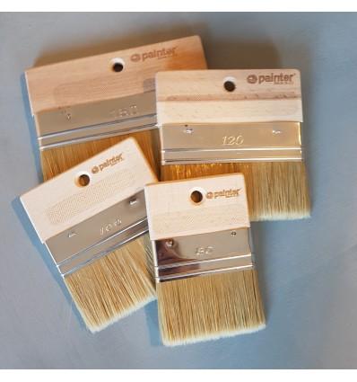 Spalter Pro pensel uden håndtag 4 størrelser