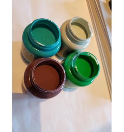 Pakke til irret kobber look 4 farver