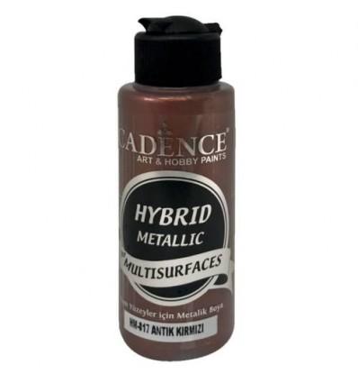 Hybrid metallic maling 817 Antik rød