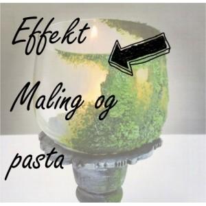 Effekt maling og pasta
