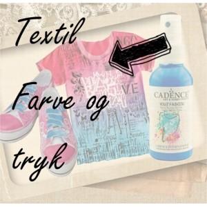 Textilfarve og tryk