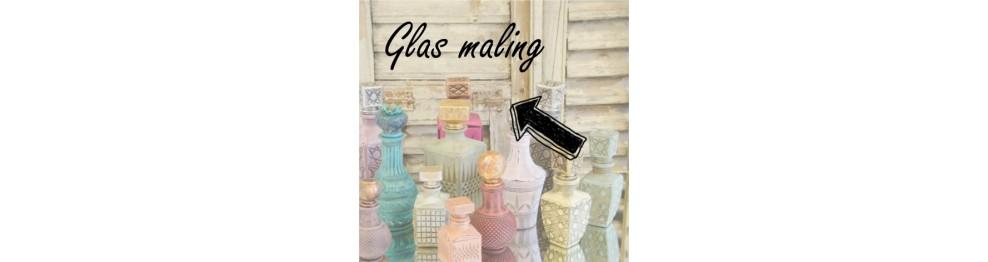 Glas og porcelæns Maling