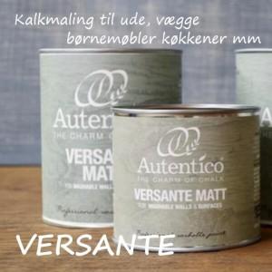 Autentico Versante kalkmaling til ude, køkkener mm