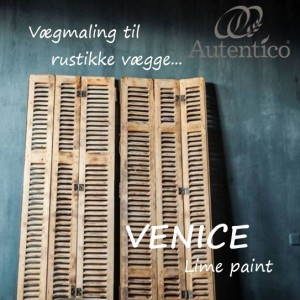 Autentico Venice Kalkmaling/Limepaint til rustikke vægge