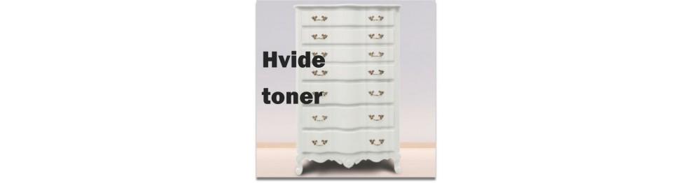 Hvide toner